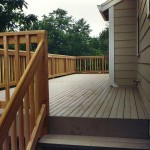 TimberTech Composite Deck & Clear Cedar Railing