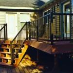 Aluminum Railing & Cedar Deck