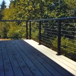 TimberTech Composite Deck & Stainless Steel Cable Railing