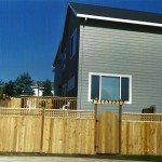 White Cedar Fence & Arbor Gate