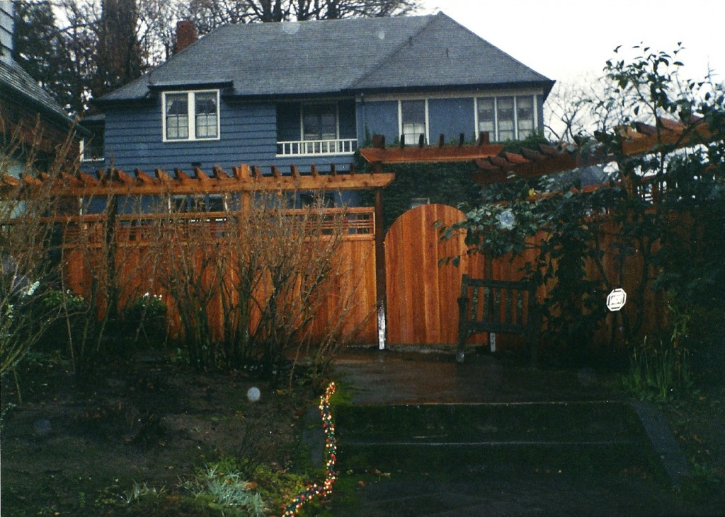 GARDEN GATE WITH ARBOR AND FENCE   LOWEu0027S CREATIVE IDEAS.