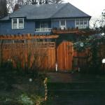 Cedar Fence, Gate & Arbor