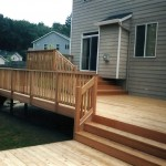 Clear Cedar Deck and Railing