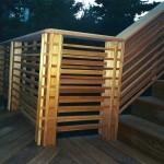 Ipe Deck & Cedar Japanese Style Railing